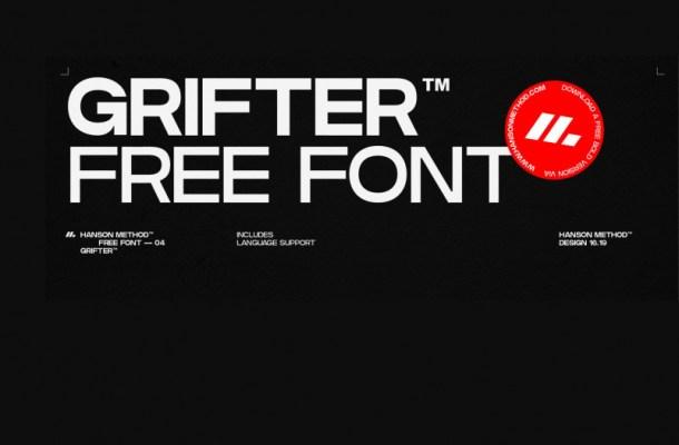Grifter Sans Serif Font-1