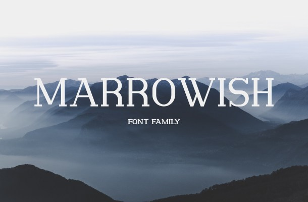 Marrowish Slab Serif Font-1