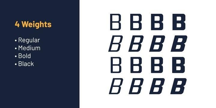 Quub Sans Serif Font Family-3