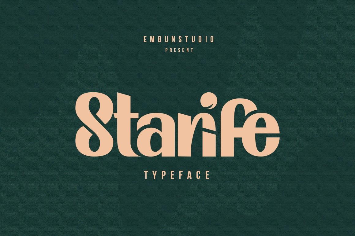 Starife Modern Display Typeface-1