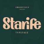 Starife Modern Display Typeface