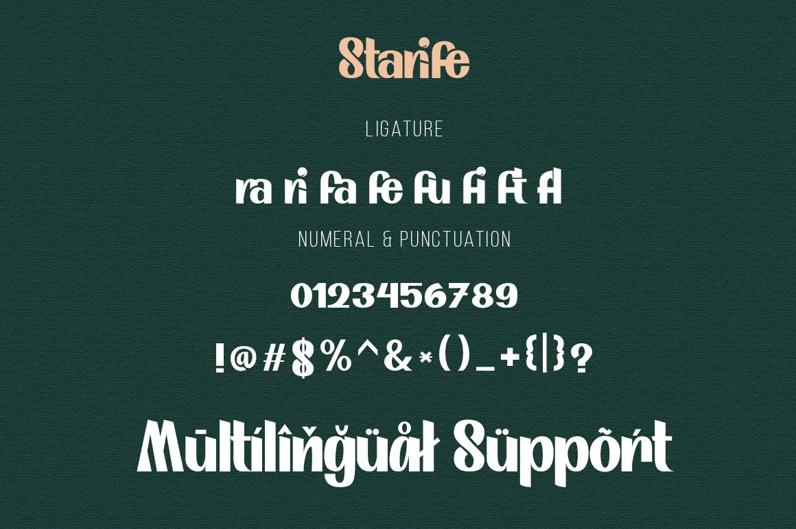 Starife Modern Display Typeface-4