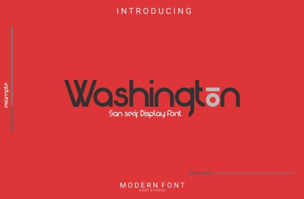 Washington Display Font-1