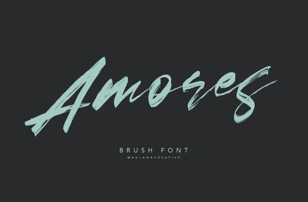 Amores Brush Script Font-1