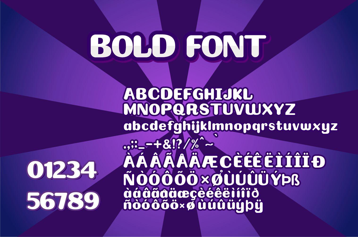 Bolder Bold Display Font-4