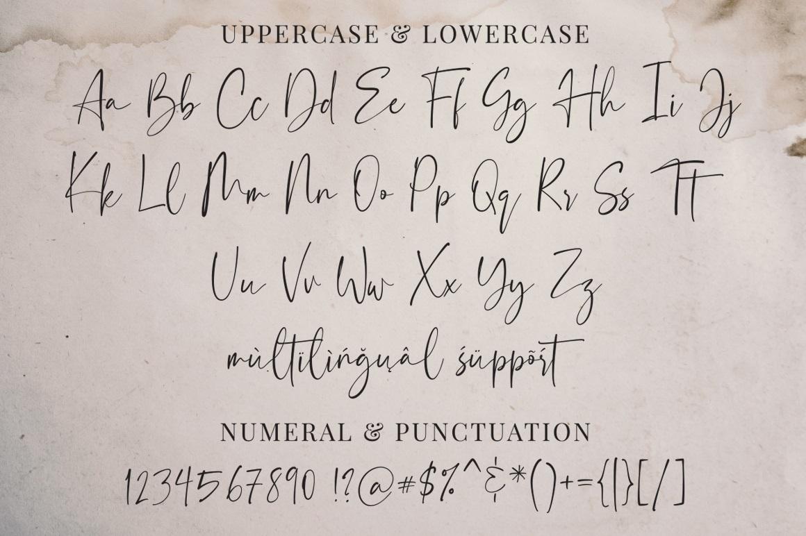 Florentea Luxury Calligraphy Script Font-3