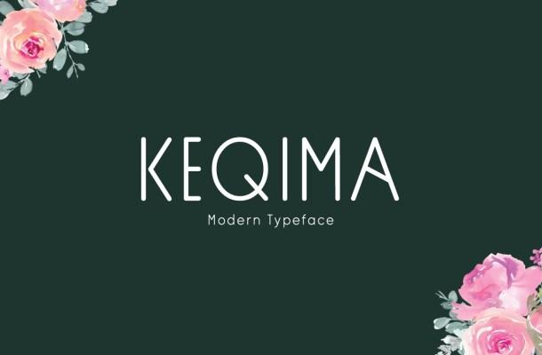 Keqima Typeface
