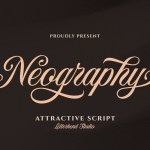 Neography Modern Calligraphy Script Font