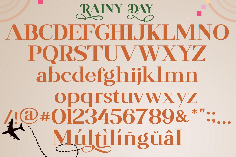 Rainy Day Classy Serif Font-3