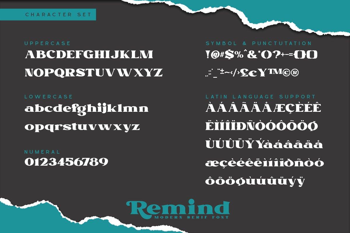 Remind Modern Serif Font-4