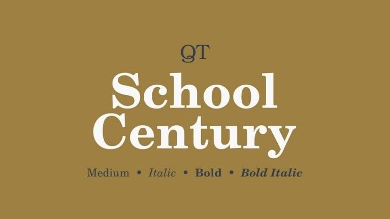 School Century Serif Font-1
