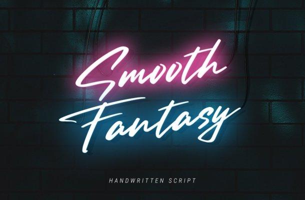 Smooth Fantasy Handwritten Script Font