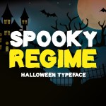 Spooky Regime Display Horror Font
