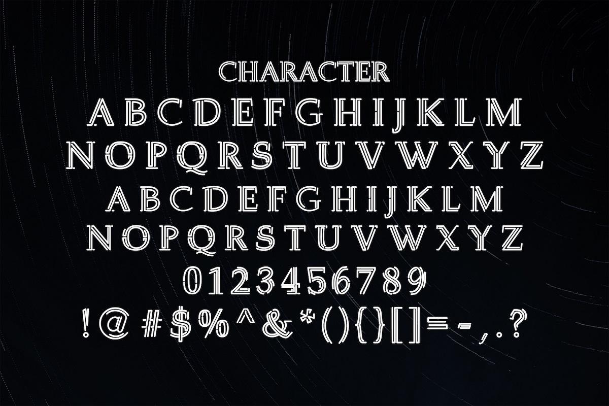 Welingtom Display Font-3