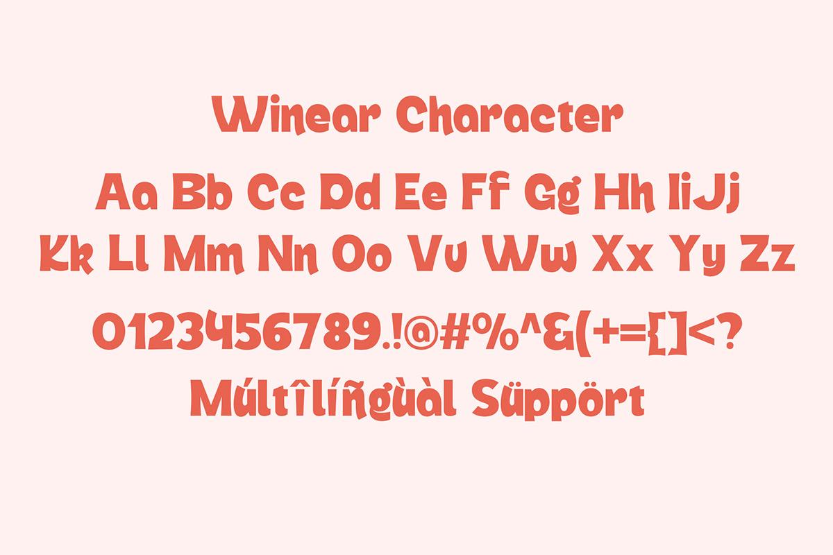 Winear Display Font-3