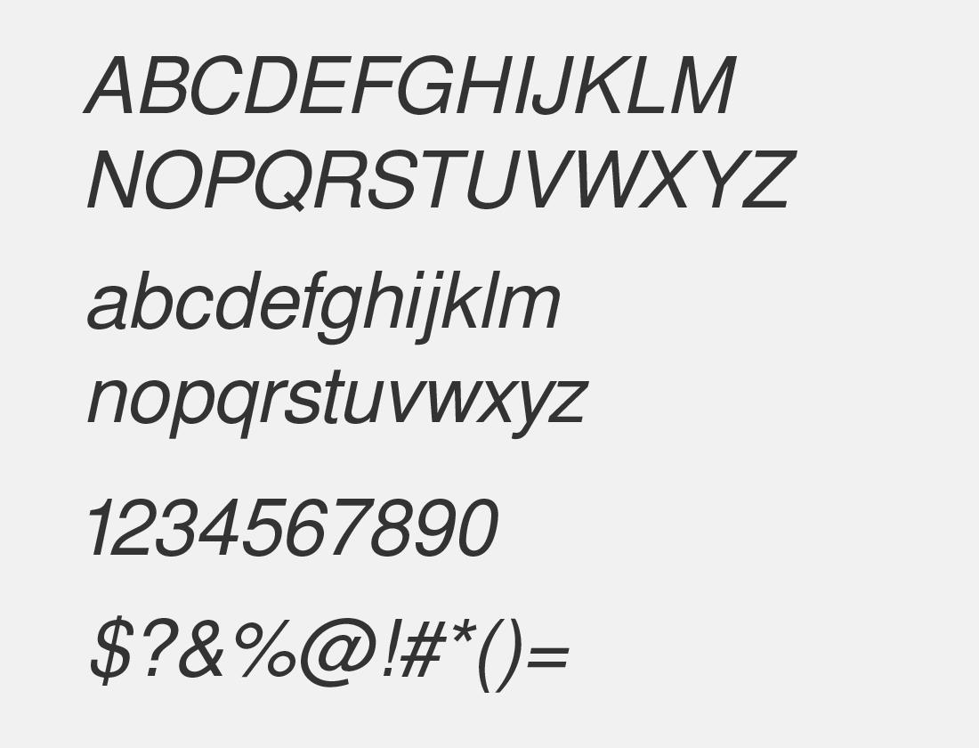 04-Free-sans-oblique-font