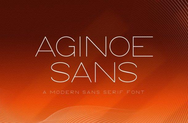 Aginoe Modern Sans Font Family