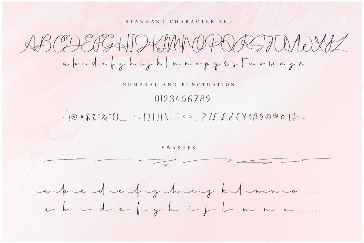 Balmond Handwritten Signature Font-3