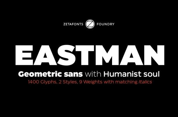 Eastman Sans Serif Font
