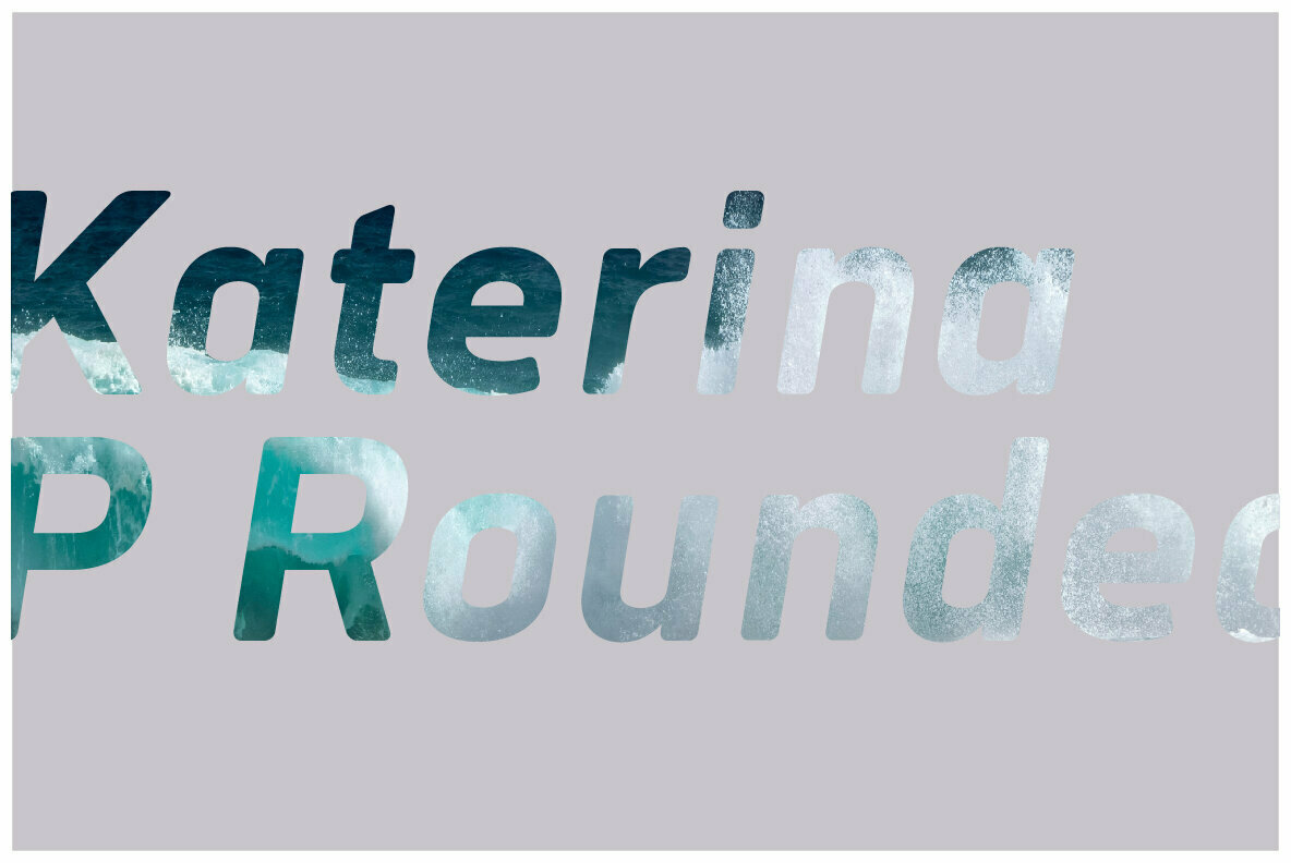 Katerina P Rounded Sans Serif Typeface-2