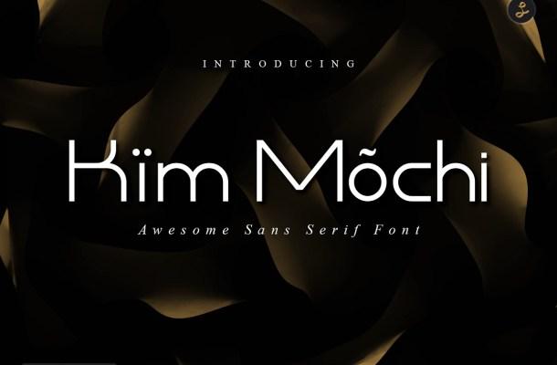 Kim Mochi Sans Display Font