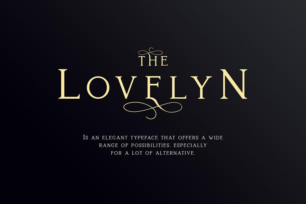 Lovelyn Elegant Serif Typeface-1