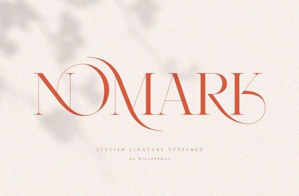 Nomark Serif Ligature Typeface