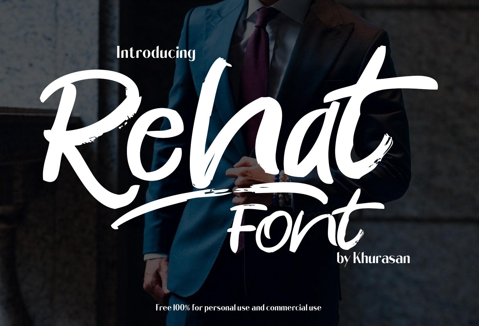Rehat Font-2