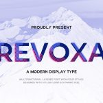 Revoxa Modern Display Typeface