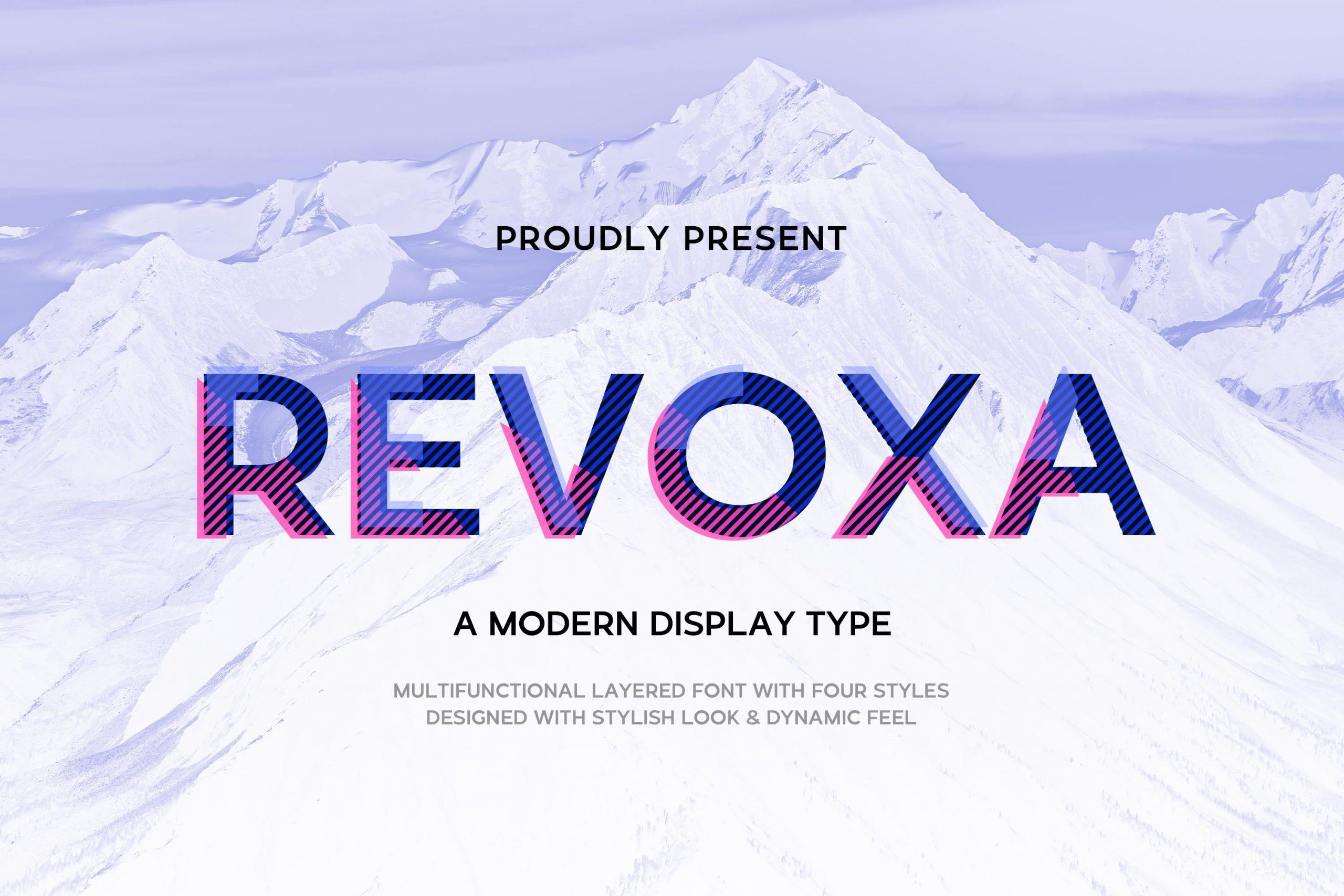 Revoxa Modern Display Typeface-1