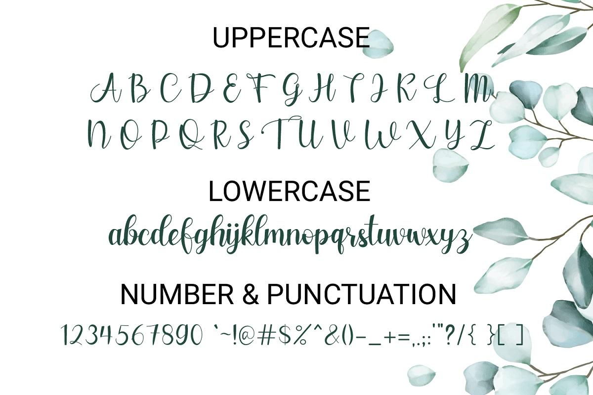 Sweet Story Handwritten Script Font-3