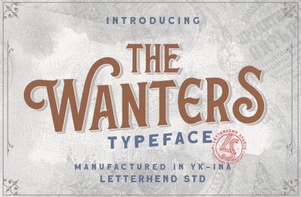 The Wanters Serif Display Typeface