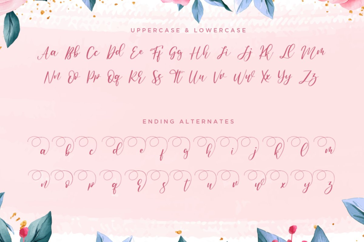 Anandya Calligraphy Script Font-3