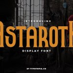 Astaroth Serif Display Font