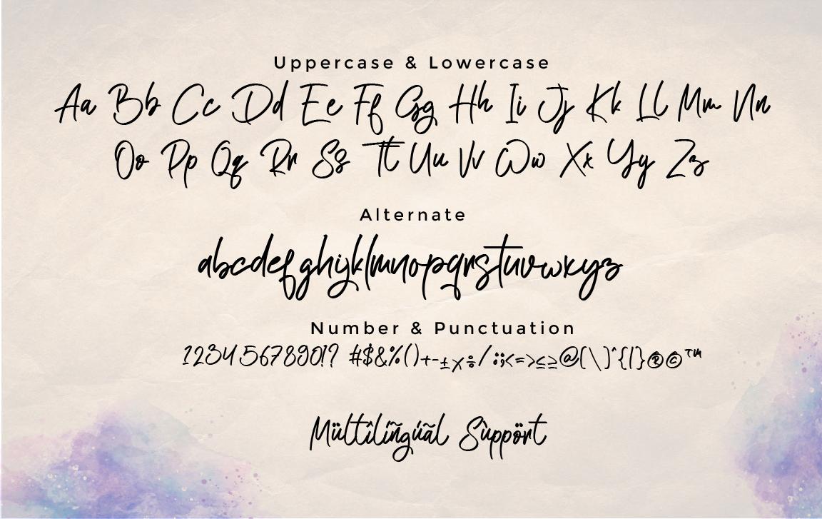 Atakana Handwritten Script Font-3