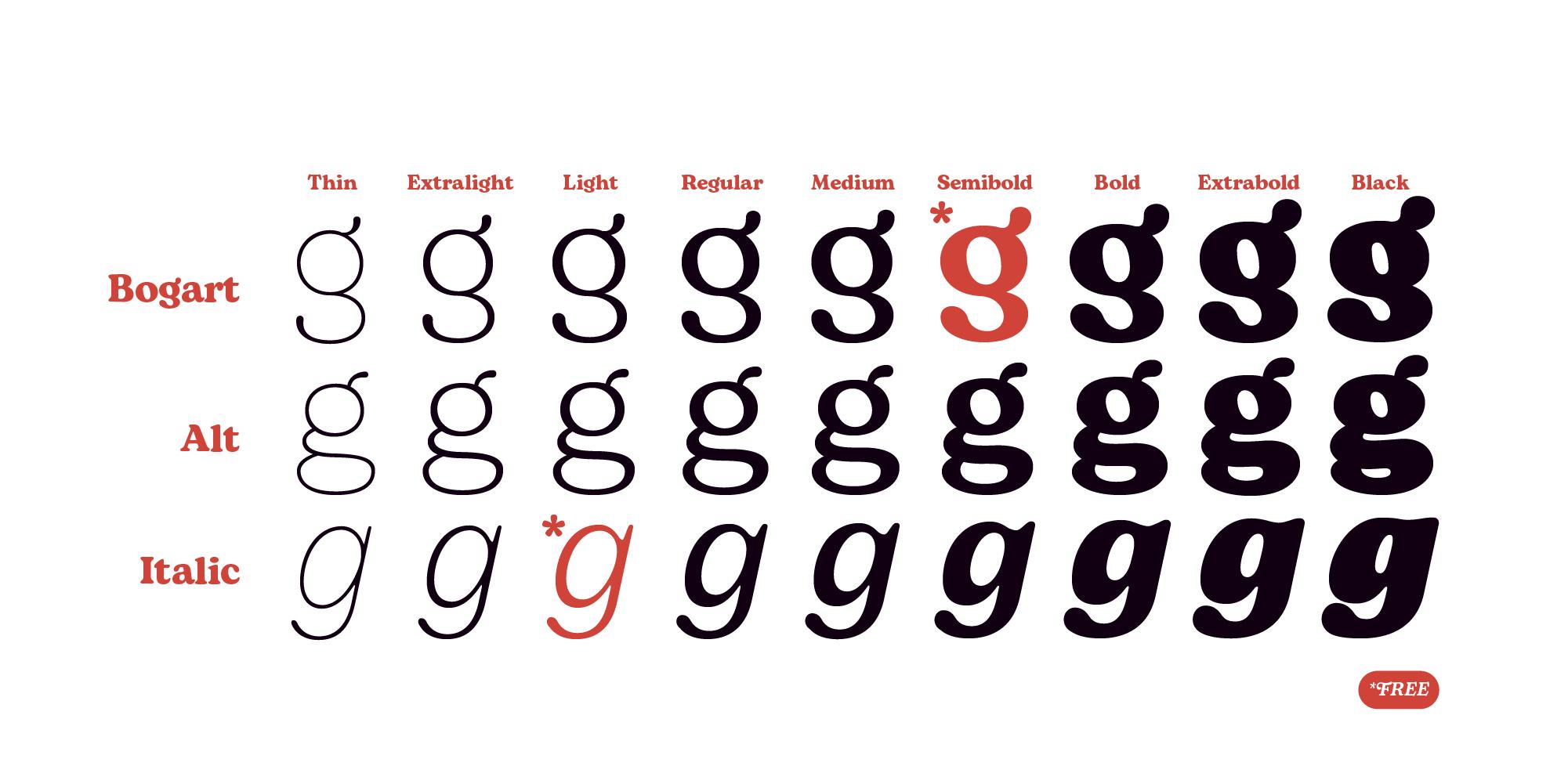 Bogart Serif Typeface-4