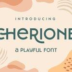 Cherione Sans Serif Font Family
