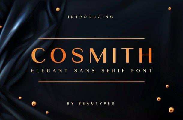 Cosmith Elegant Sans Serif Font
