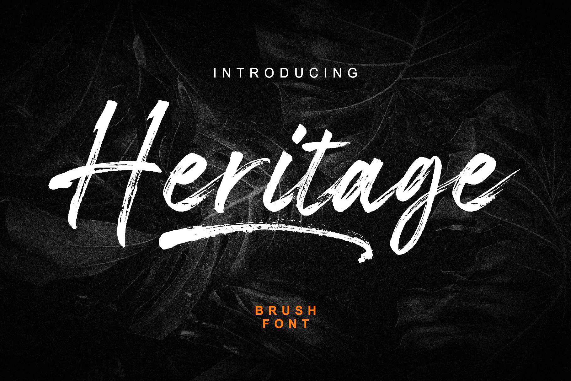 Heritage Brush Script Font