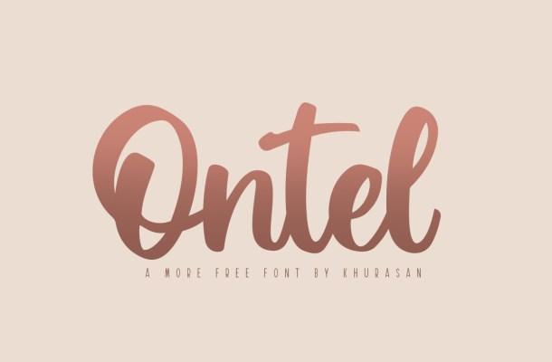 Ontel Bold Script Font