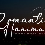 Romantic Hanimun Handwritten Script Font