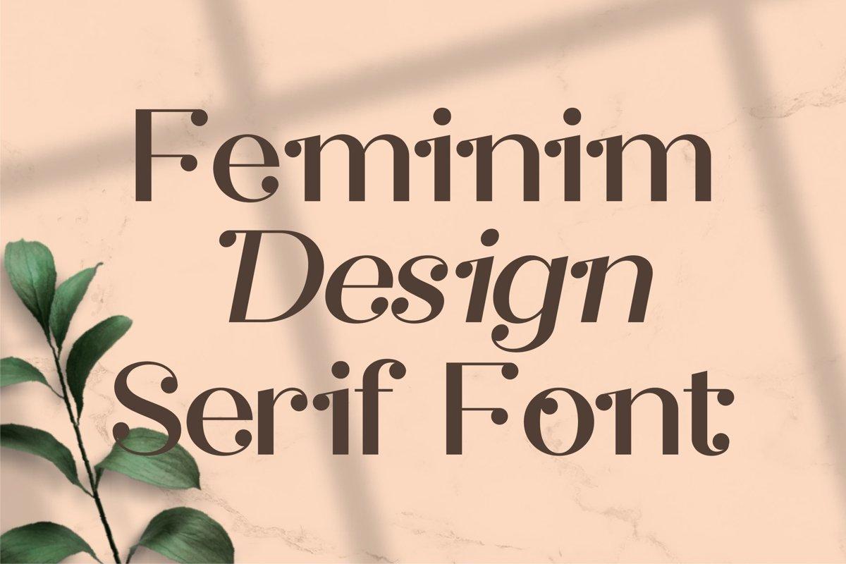Safira Modern Feminine Serif Font-2