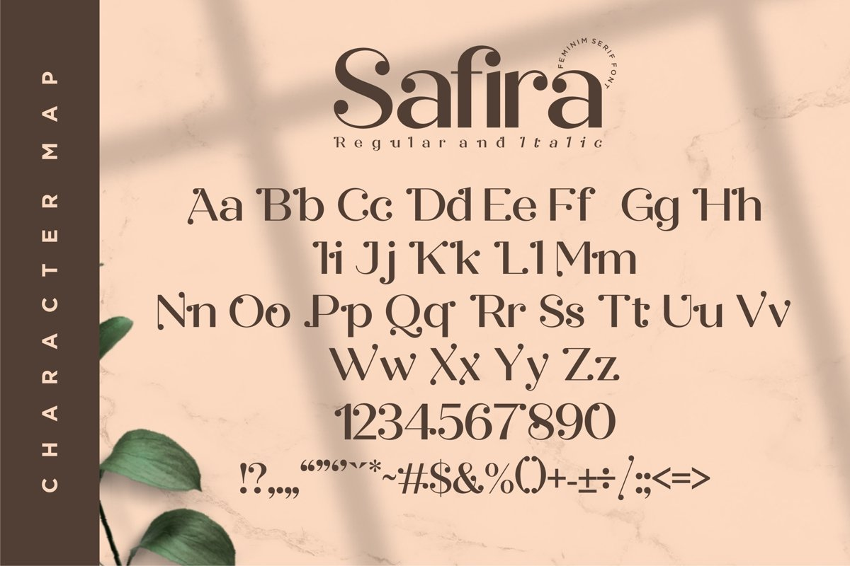 Safira Modern Feminine Serif Font-3