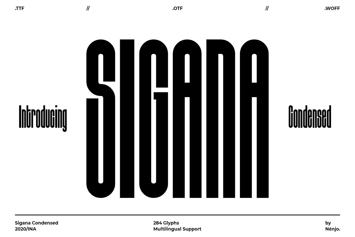 Sigana Display Sans Font