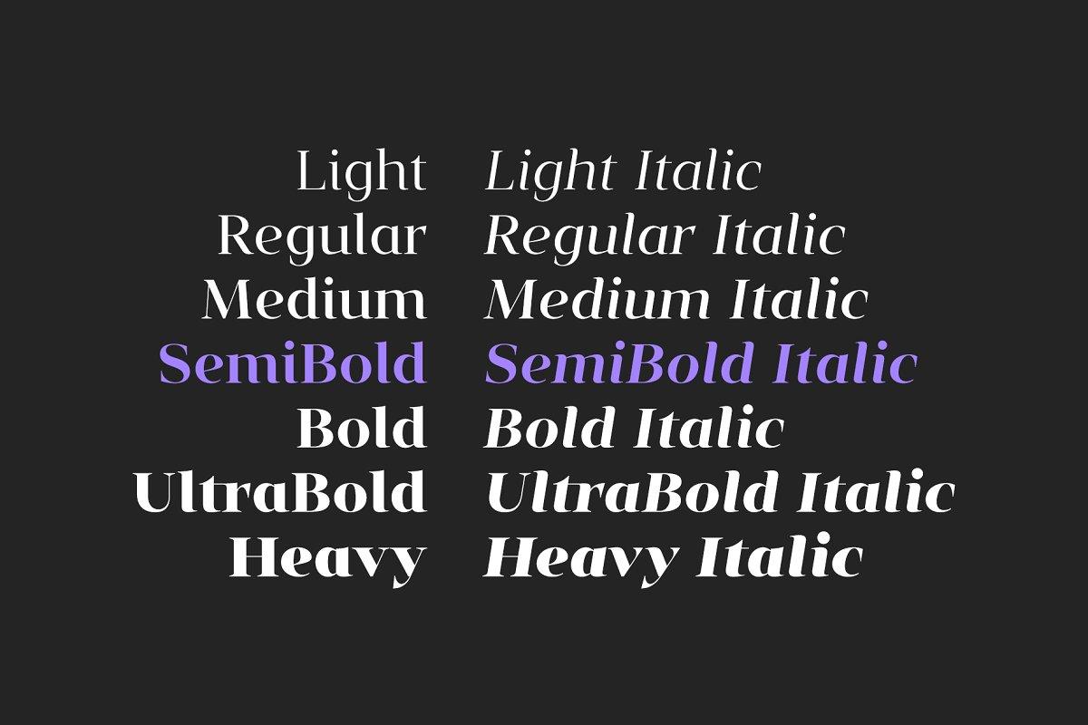 Vendura Neoclassic Serif Font-3