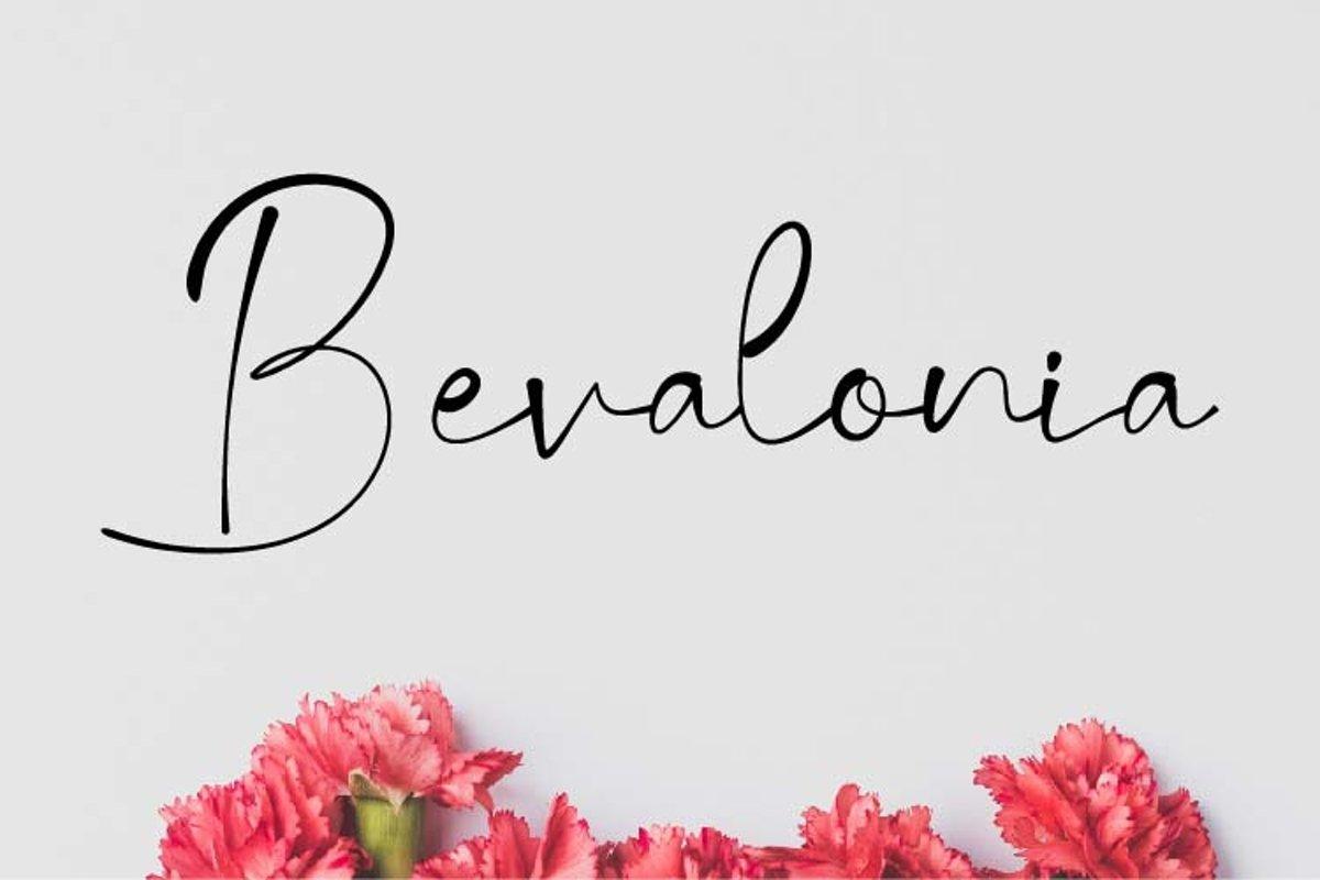 Bevalonia Font