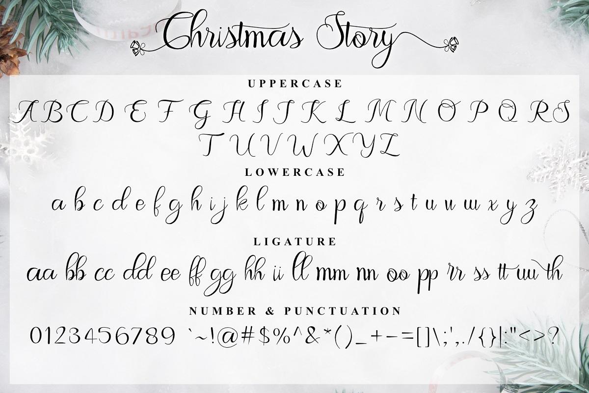 Christmas Story Font-3