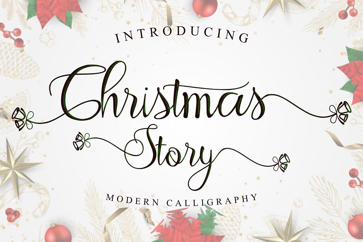 Christmas Story Font-1