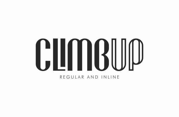 Climbup Sans Serif Font