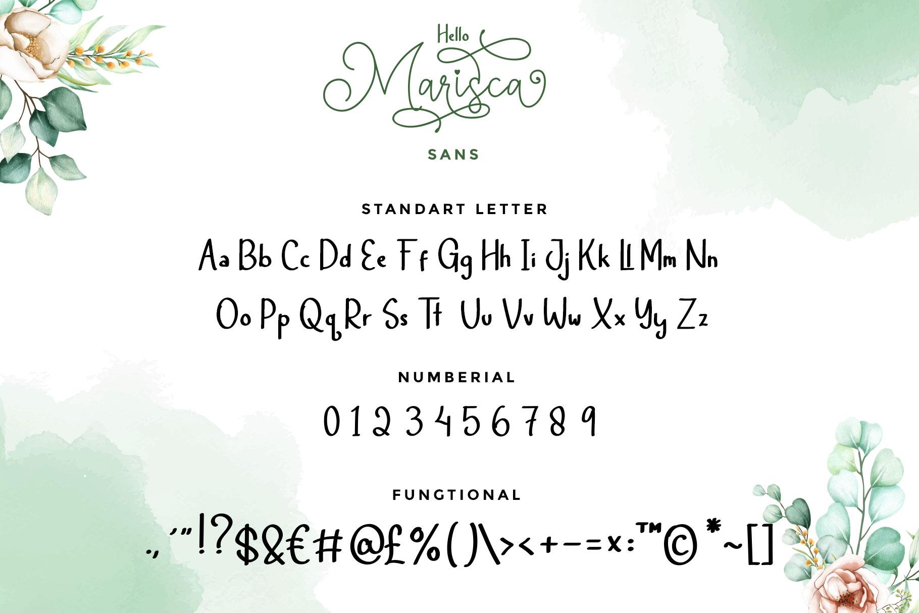 Hello Marisca Font-3